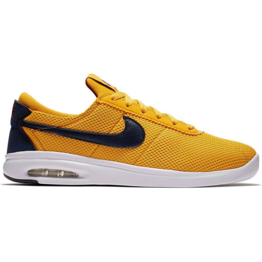 ナイキ Nike メンズ スケートボード シューズ・靴【SB Air Max Bruin Vapor Textile Skate Shoes】Yellow Ochre/Obsidian/Red Crush/White
