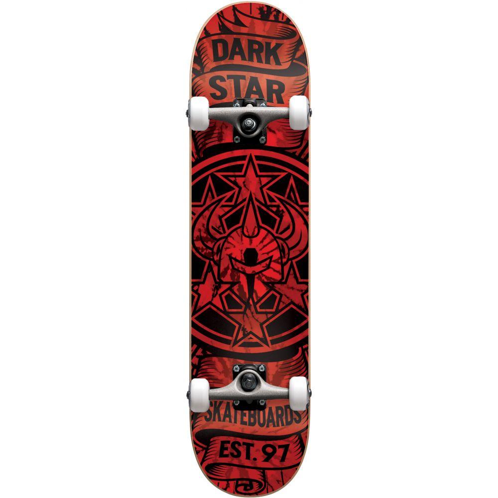 ダークスター Darkstar メンズ スケートボード ボード・板【Civil Skateboard Complete】Red