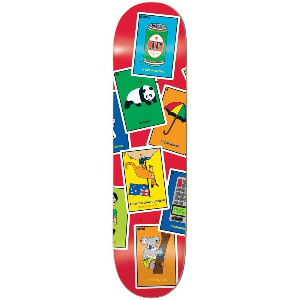 エンジョイ Enjoi メンズ スケートボード ボード・板【La Loteria R7 Skateboard Deck】Jackson Pilz