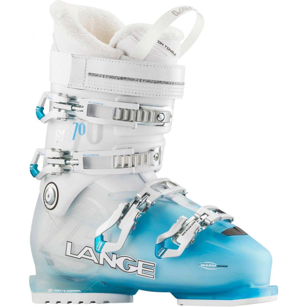 ランジェ Lange レディース スキー・スノーボード シューズ・靴【SX 70 Ski Boots】Transparent Blue/White