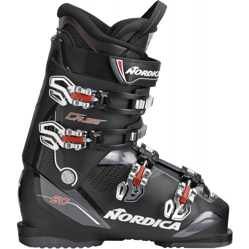 ノルディカ Nordica メンズ スキー・スノーボード シューズ・靴【Cruise 60 Ski Boots 2019】Black/Anthracite/Red