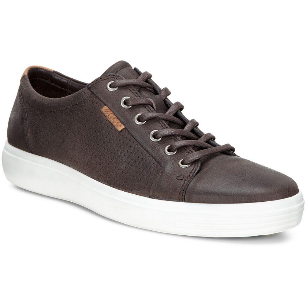 エコー ECCO メンズ シューズ・靴 スニーカー【Soft 7 Tie Shoes】Coffee Quarry