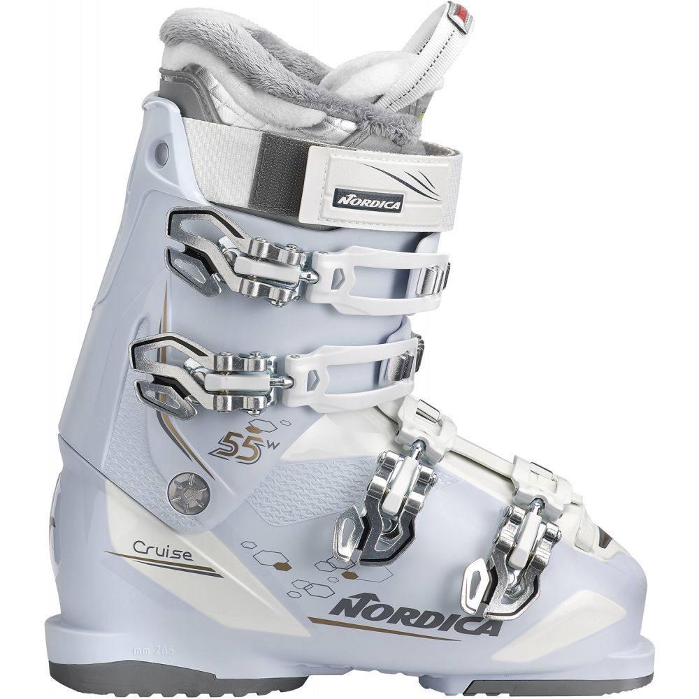 ノルディカ Nordica レディース スキー・スノーボード シューズ・靴【Cruise 55 Ski Boots 2019】Ice/White/Bronze
