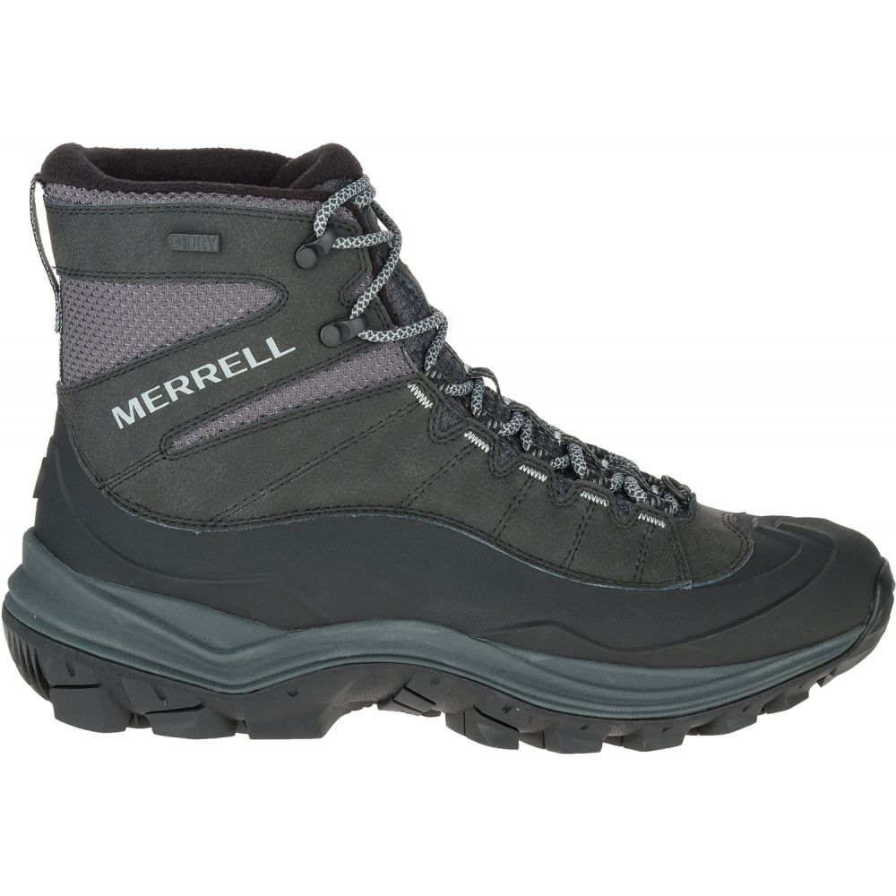メレル Merrell メンズ ハイキング・登山 シューズ・靴【Thermo Chill Mid Shell Waterproof Hiking Boots】Black