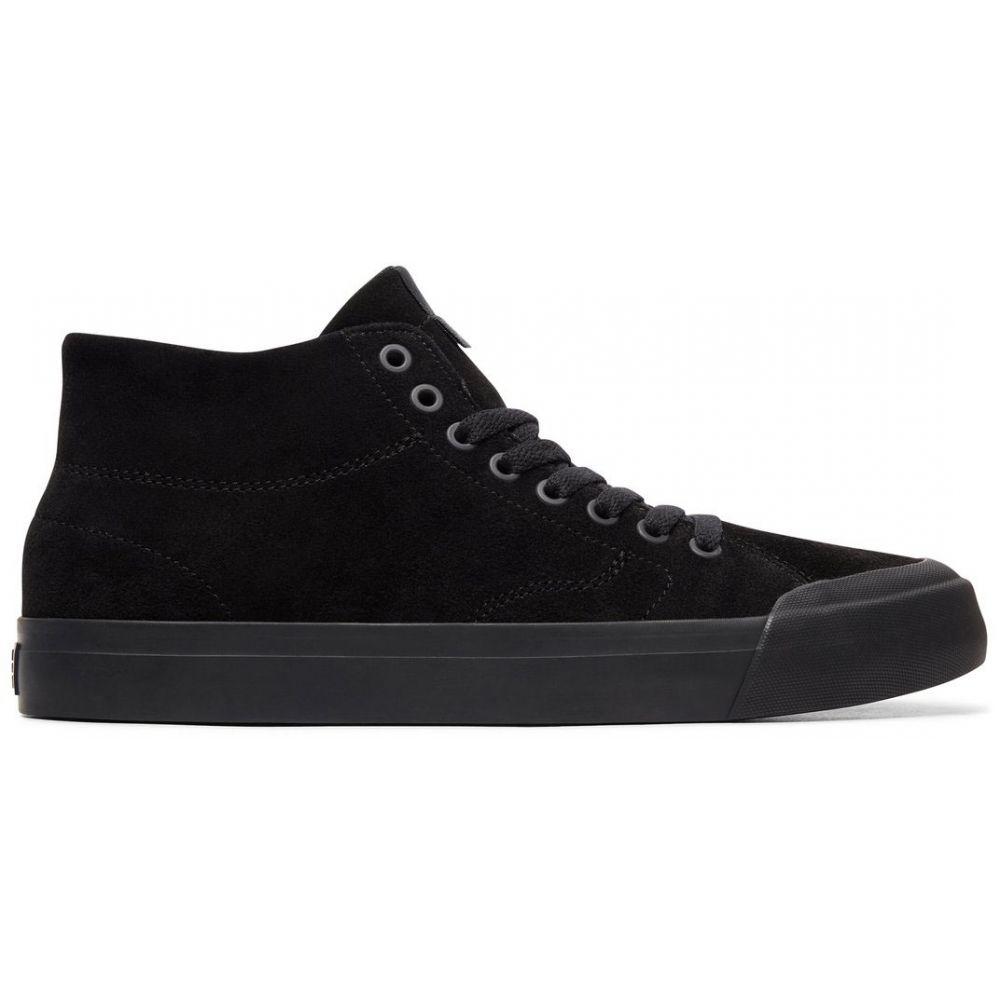 ディーシー DC メンズ スケートボード シューズ・靴【Evan Smith Hi Zero Skate Shoes】Black/Black