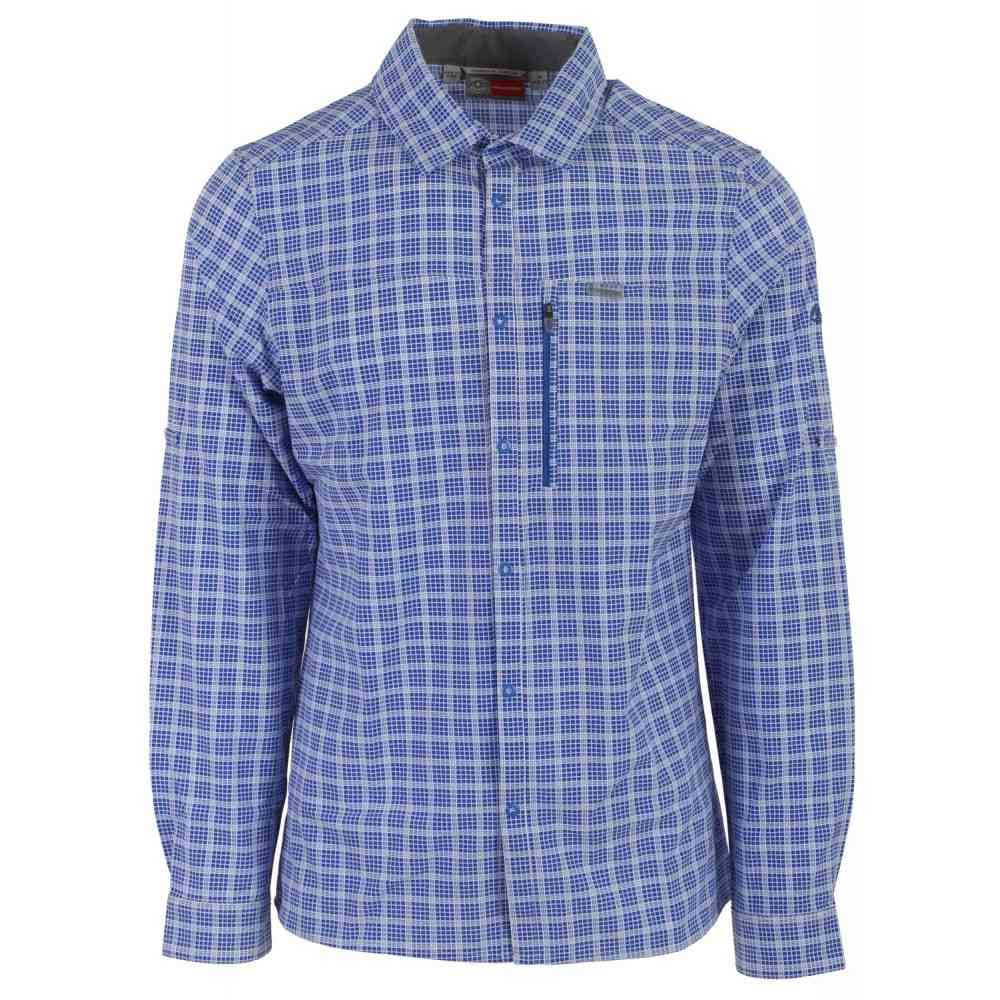 クラッグホッパーズ Craghoppers メンズ トップス【Nosilife Albert L/S Shirt】Sport Blue Check