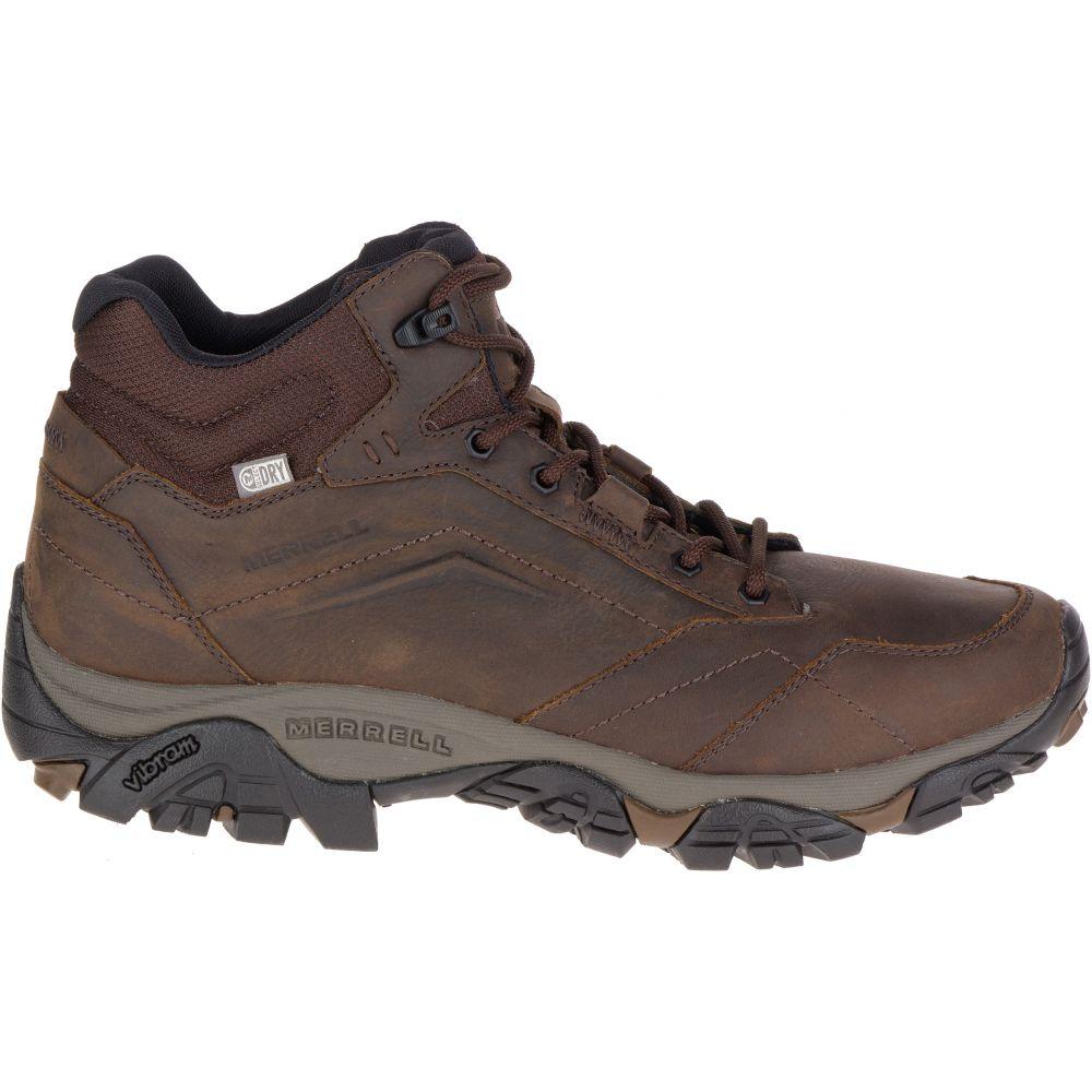 メレル Merrell メンズ ハイキング・登山 シューズ・靴【Moab Adventure Mid Waterproof Hiking Boots】Dark Earth