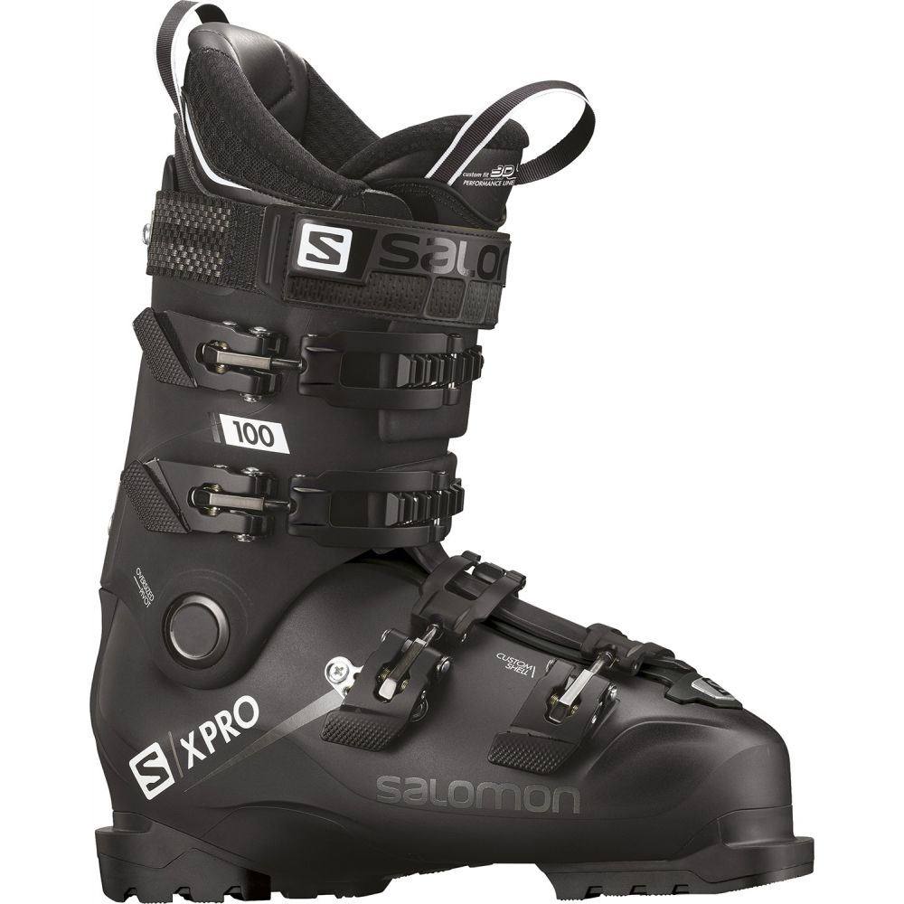 爆買い! サロモン Salomon Black/White メンズ Ski スキー Salomon・スノーボード シューズ・靴【X Pro 100 Ski Boots 2019】Black/Metallic Black/White, Little Mary:a650d18b --- canoncity.azurewebsites.net
