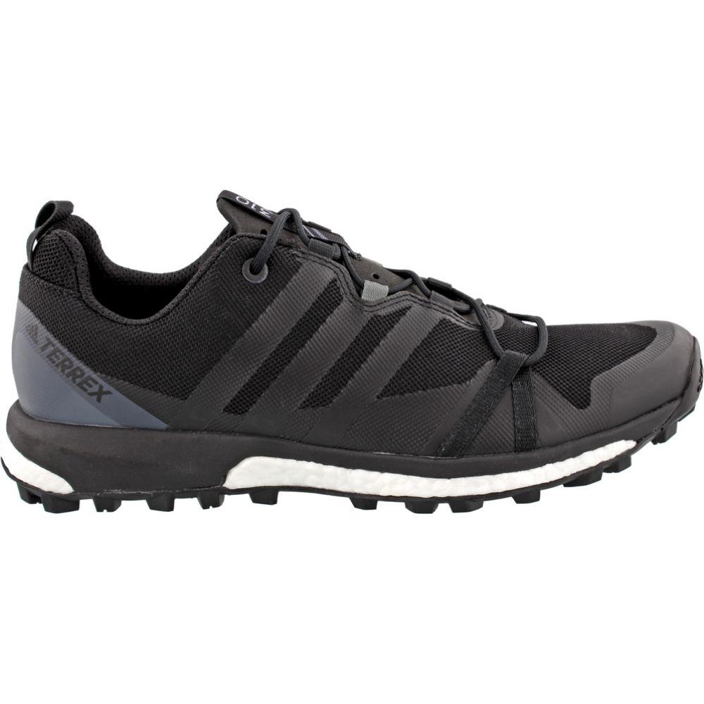アディダス Adidas メンズ ランニング・ウォーキング シューズ・靴【Terrex Agravic Trail Running Shoes】Black/Black/Vista Grey