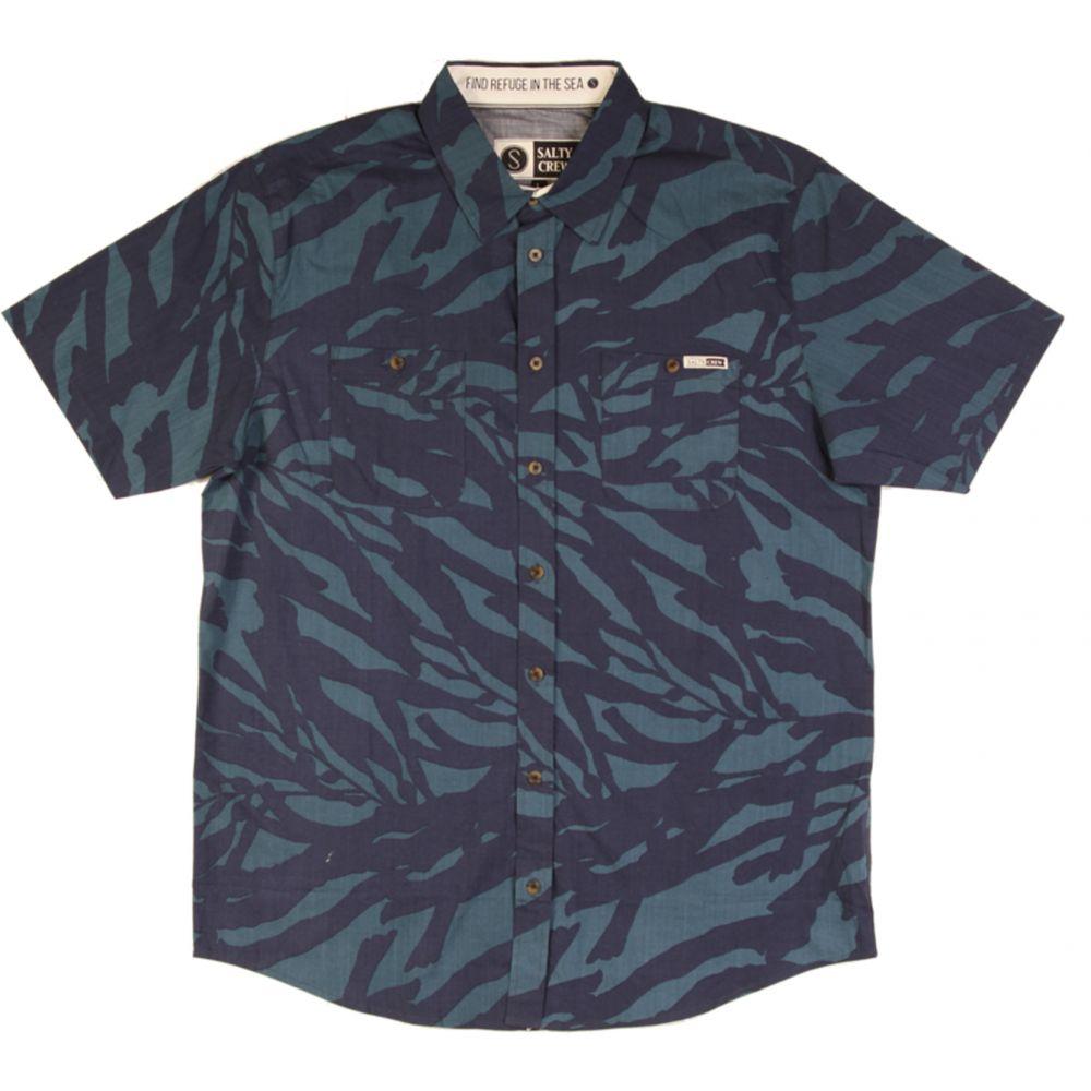 ソルティークルー Salty Crew メンズ トップス シャツ【Kelped Out Woven Shirt】Navy