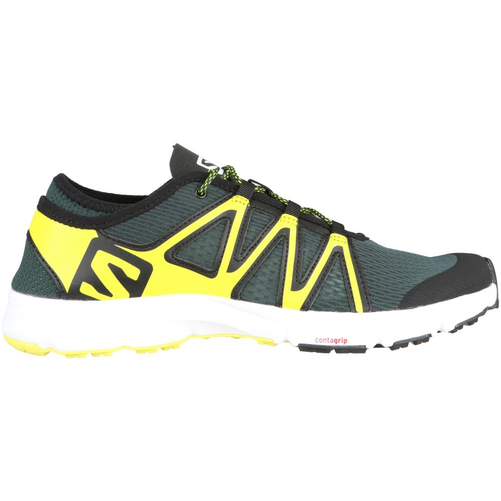 サロモン Salomon メンズ シューズ・靴 ウォーターシューズ【Crossamphibian Swift Water Shoes】Darkest Spruce/Black