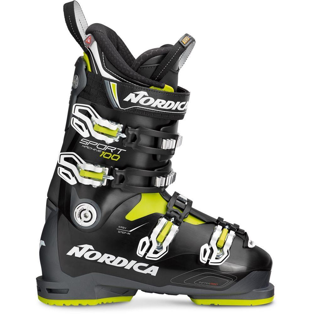ノルディカ 100 Nordica メンズ スキー・スノーボード Boots シューズ・靴【Sportmachine Nordica 100 Ski Boots 2019】Anthracite/Black/Lime, 新品登場:9be2777e --- sunward.msk.ru
