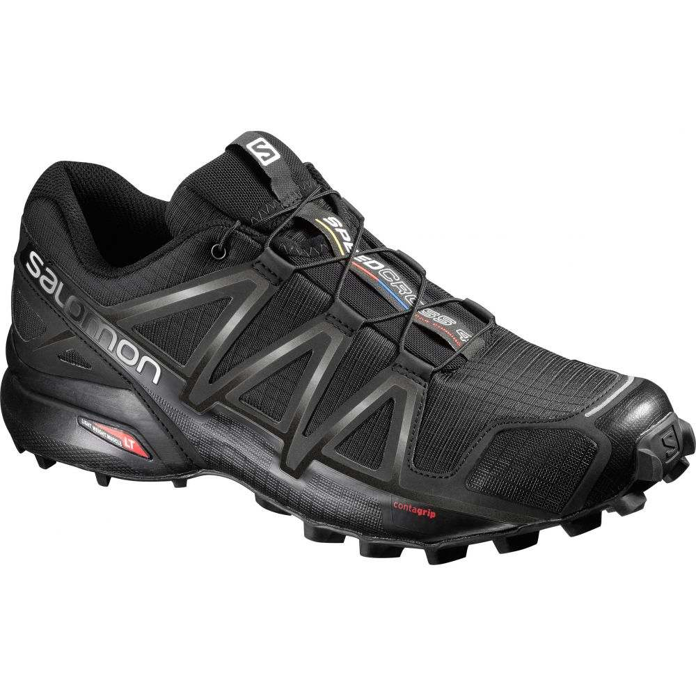 【大特価!!】 サロモン Salomon メンズ ランニング・ウォーキング Salomon シューズ 4・靴【Speedcross Trail 4 Trail Running Shoes】Black/Black/Black Metallic, FOREST STONE:ce2488ae --- business.personalco5.dominiotemporario.com