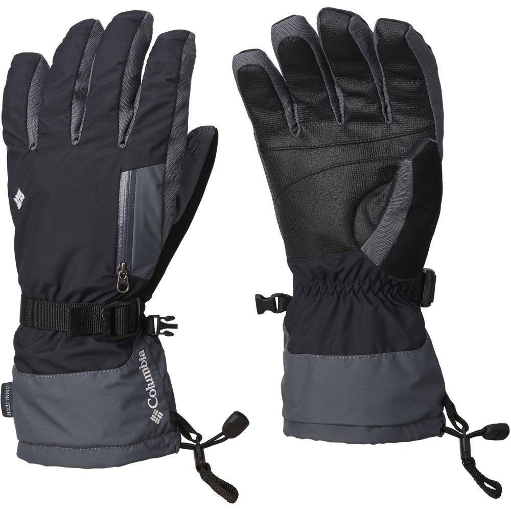 コロンビア Columbia メンズ スキー・スノーボード グローブ【Bugaboo Interchange Gloves 2019】Black/Graphite