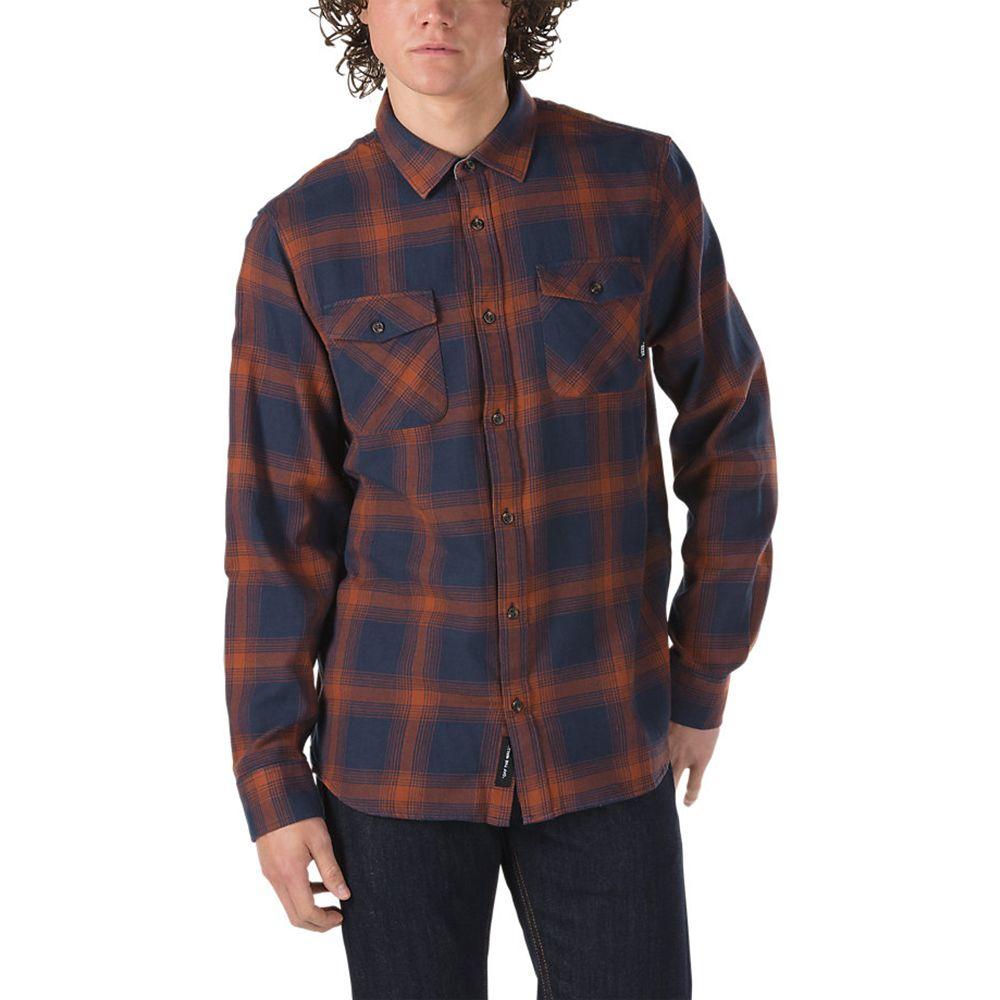 ヴァンズ Vans メンズ トップス シャツ【Monterey III Flannel】Dress Blues/Sequoia