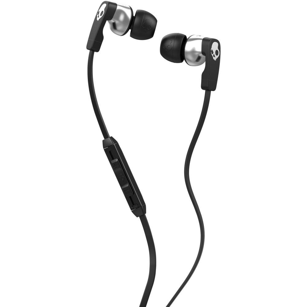 スカルキャンディー Skullcandy メンズ テックアクセサリー【Strum Earbuds】Black/Black/Chrome