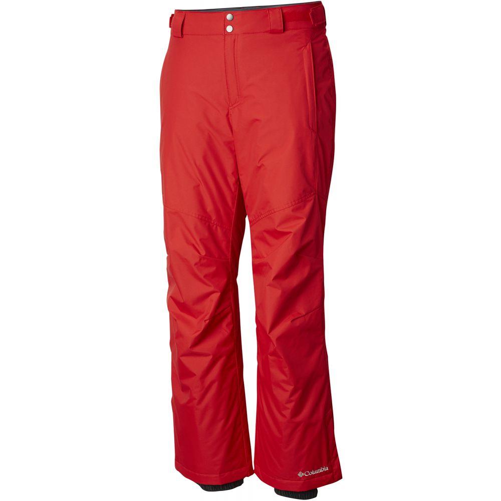 コロンビア Columbia メンズ スキー・スノーボード ボトムス・パンツ【Bugaboo II Ski Pants 2019】Red Spark