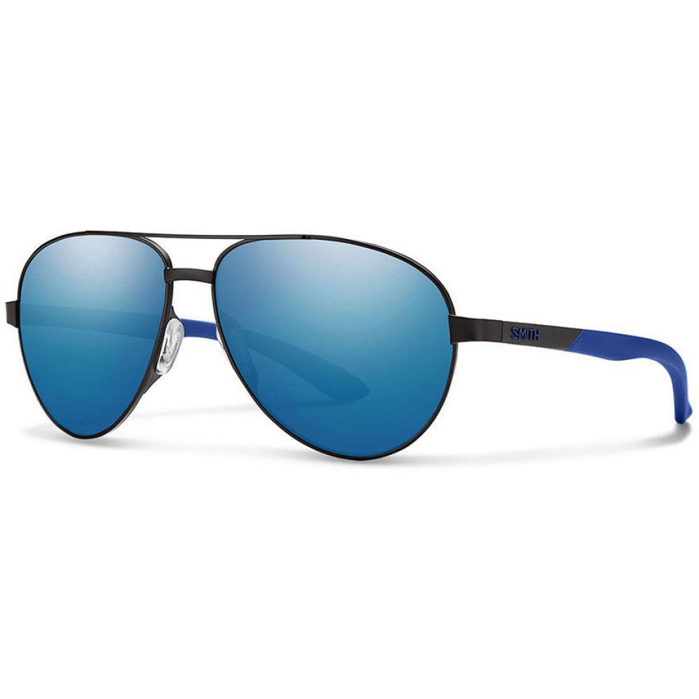 スミス Smith メンズ メガネ・サングラス【Salute Sunglasses】Matte Black/Blue Mirror Lens