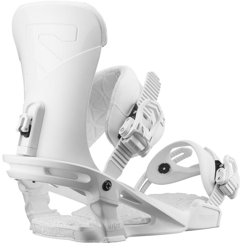 【別倉庫からの配送】 サロモン Snowboard Salomon メンズ スキー・スノーボード ビンディング【Trigger Snowboard Bindings Bindings 2019】White 2019】White, トライスターズ:bbd38b70 --- canoncity.azurewebsites.net