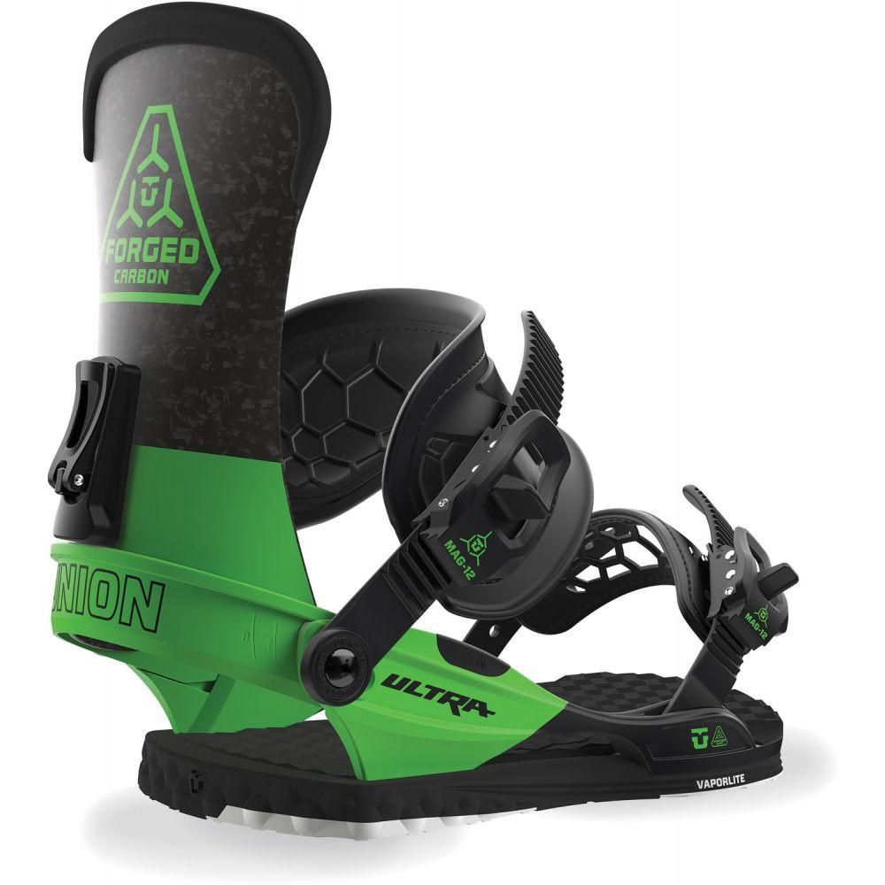 ユニオン Union メンズ スキー・スノーボード ビンディング【Ultra Snowboard Bindings 2019】Green