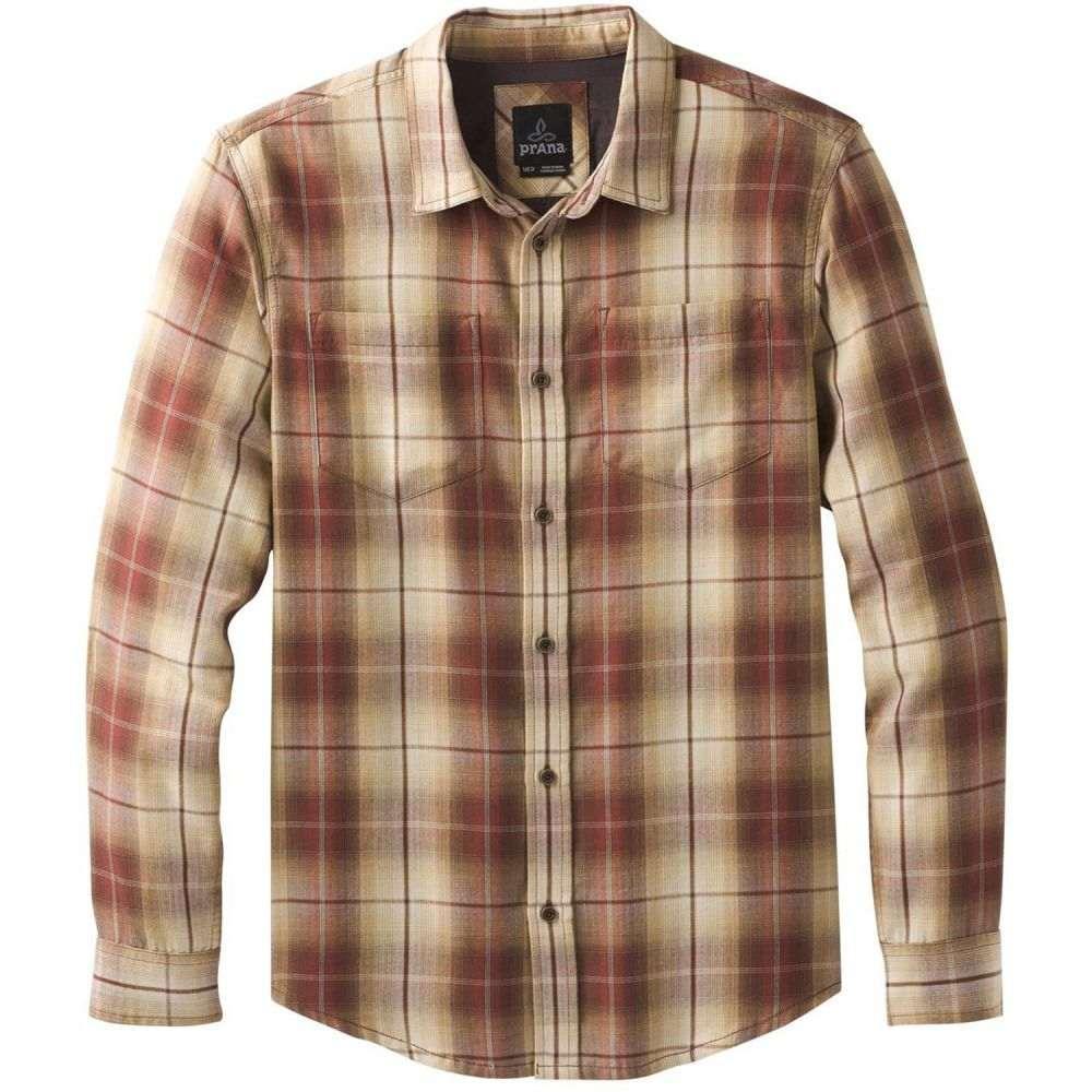 プラーナ Prana メンズ トップス シャツ【Holton Plaid L/S Shirt】Mulled Wine