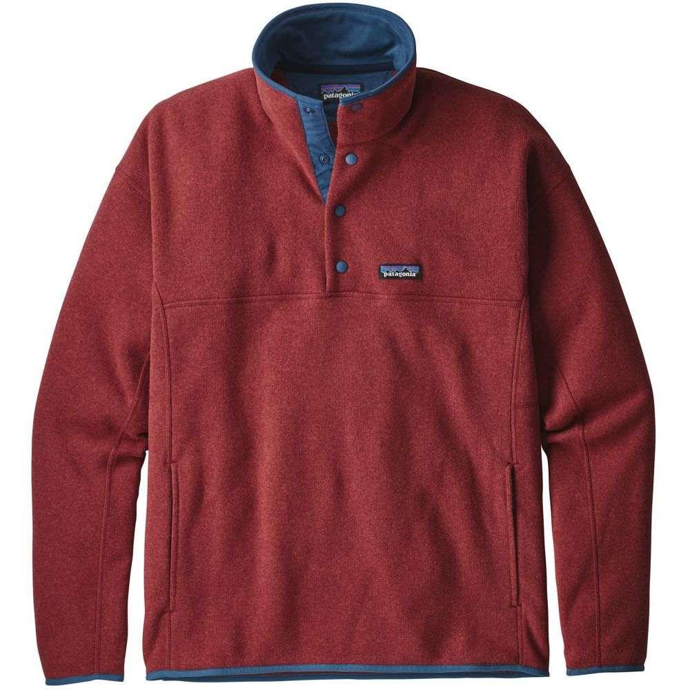 パタゴニア Patagonia メンズ トップス フリース【Lightweight Better Sweater Marsupial Pullover Fleece 2019】Oxide Red