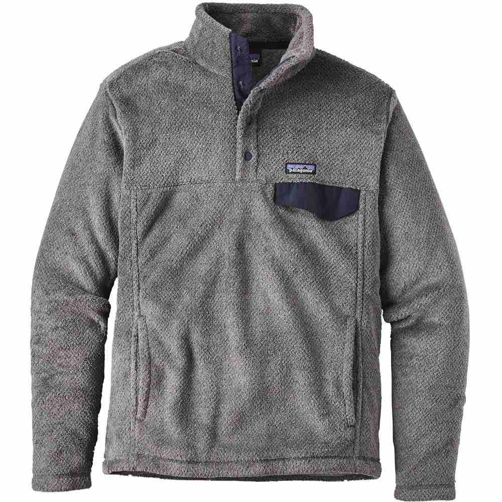 パタゴニア Patagonia メンズ トップス フリース【Re-Tool Snap-T Pullover Fleece 2019】Feather Grey/Ink Black X-Dye
