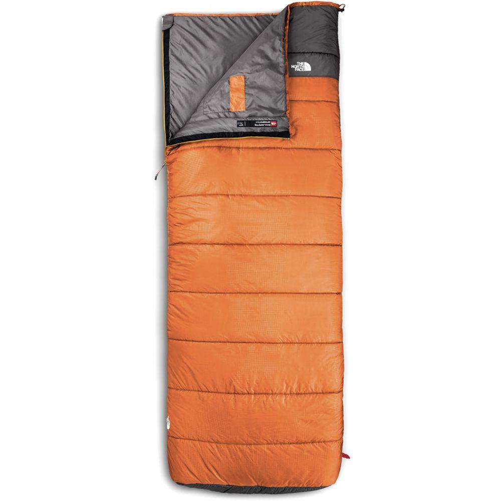 ザ ノースフェイス The North Face メンズ ハイキング・登山【Dolomite 40/4 Sleeping Bag】Monarch Orange/Zinc Grey