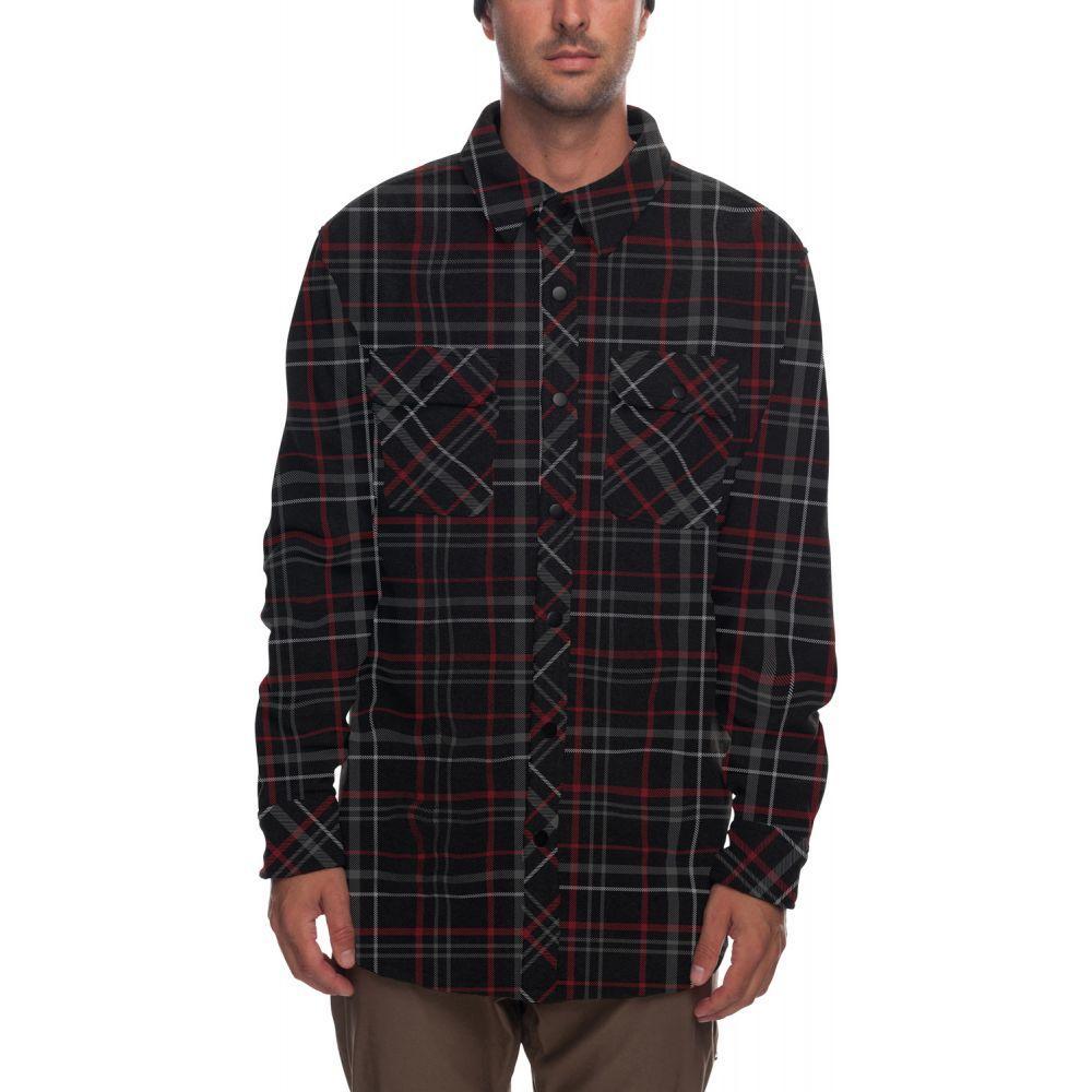 シックス エイト シックス 686 メンズ トップス フリース【Sierra Fleece Flannel】Black Plaid