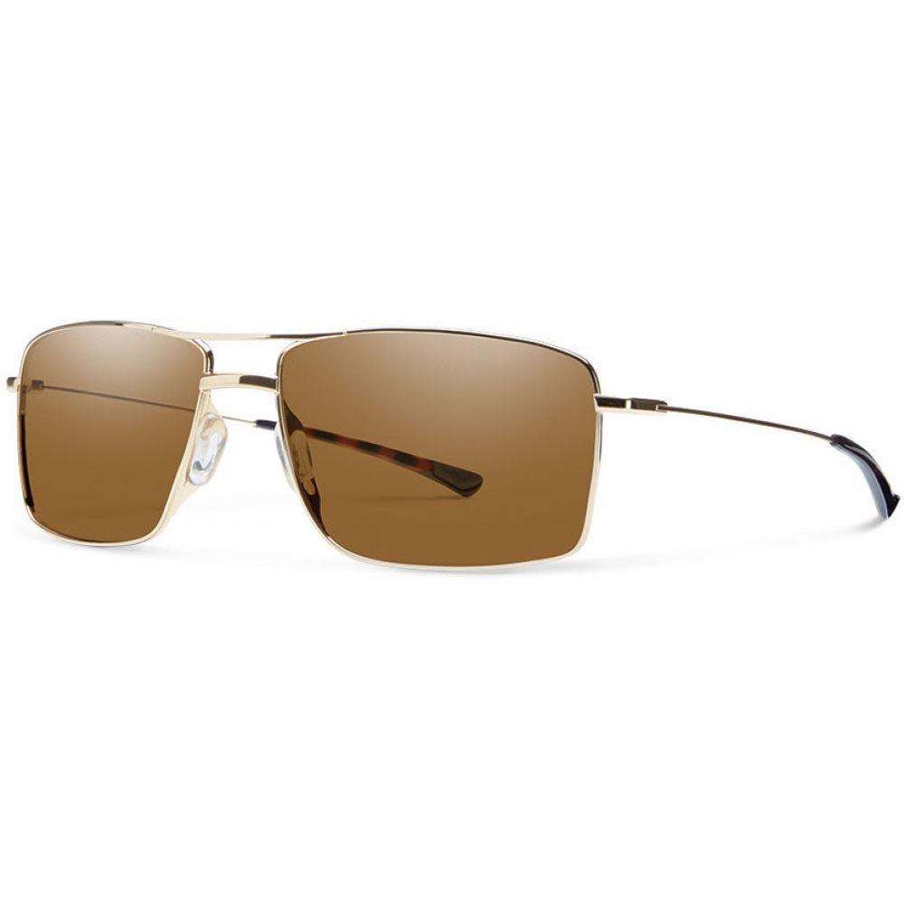 スミス Smith メンズ メガネ・サングラス【Turner Sunglasses】Gold/Brown Lens