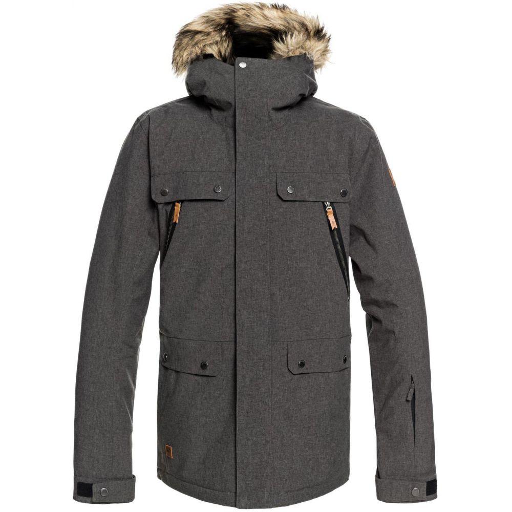 クイックシルバー Quiksilver メンズ スキー・スノーボード アウター【Selector Snowboard Jacket 2019】Grey Heather