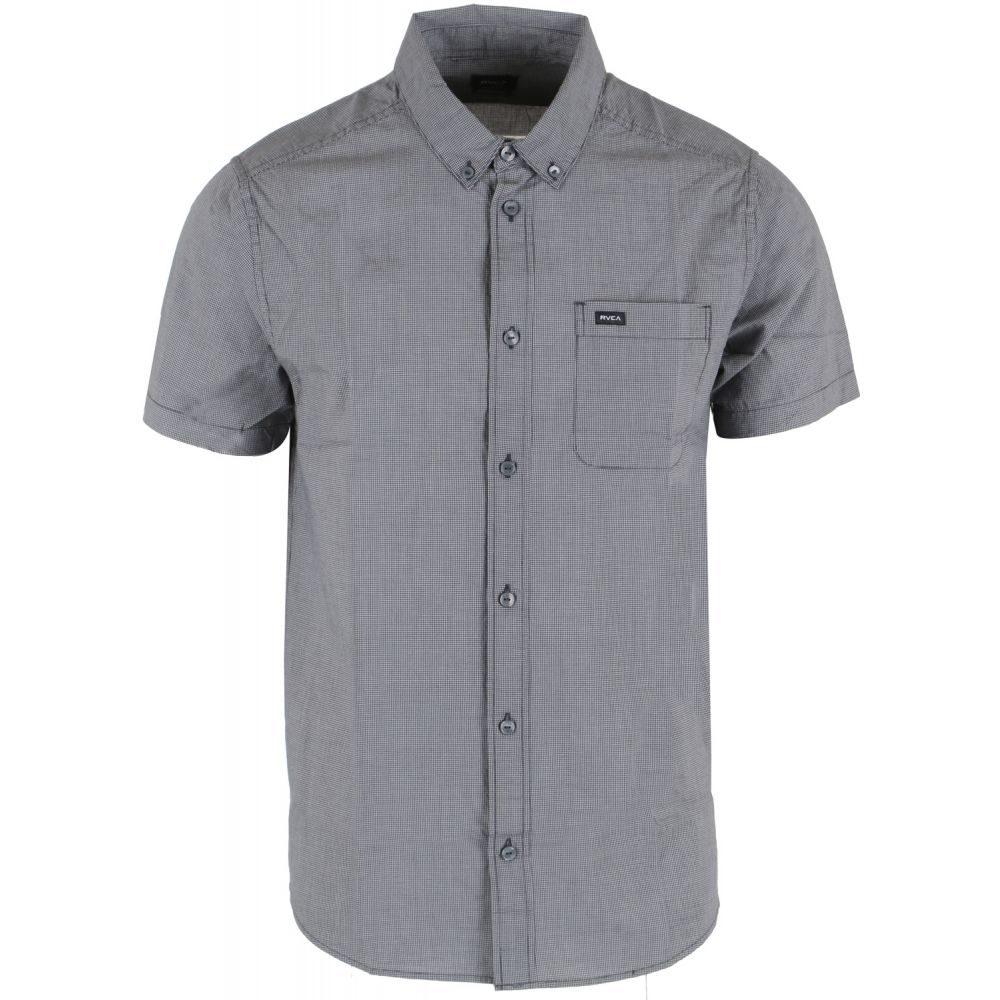 第一ネット ルーカ RVCA メンズ トップス【That'll ルーカ Do Micro RVCA Shirt Shirt】Slate】Slate, CHAO チャオ:c3dd0a1d --- informesynoticiascordoba.com