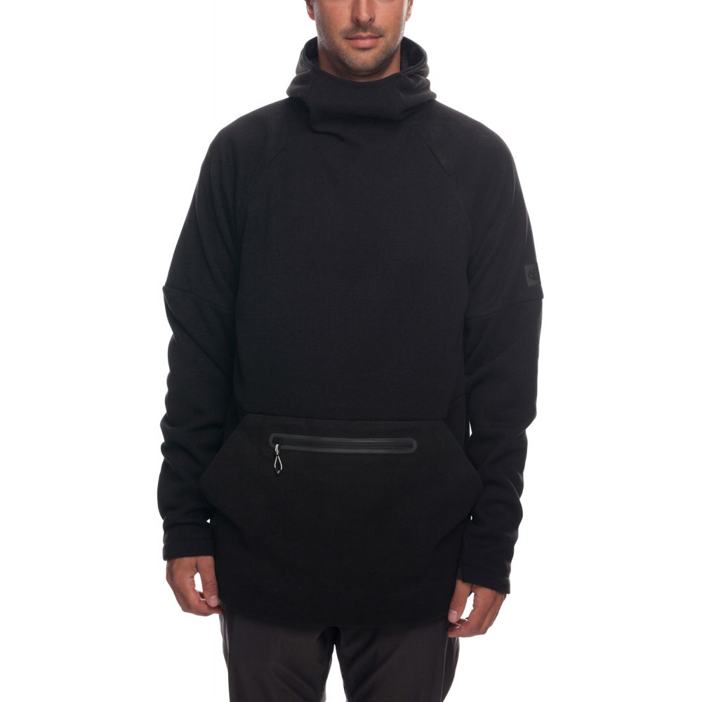 シックス エイト シックス 686 メンズ トップス フリース【Knit Tech Fleece Hoodie】Black