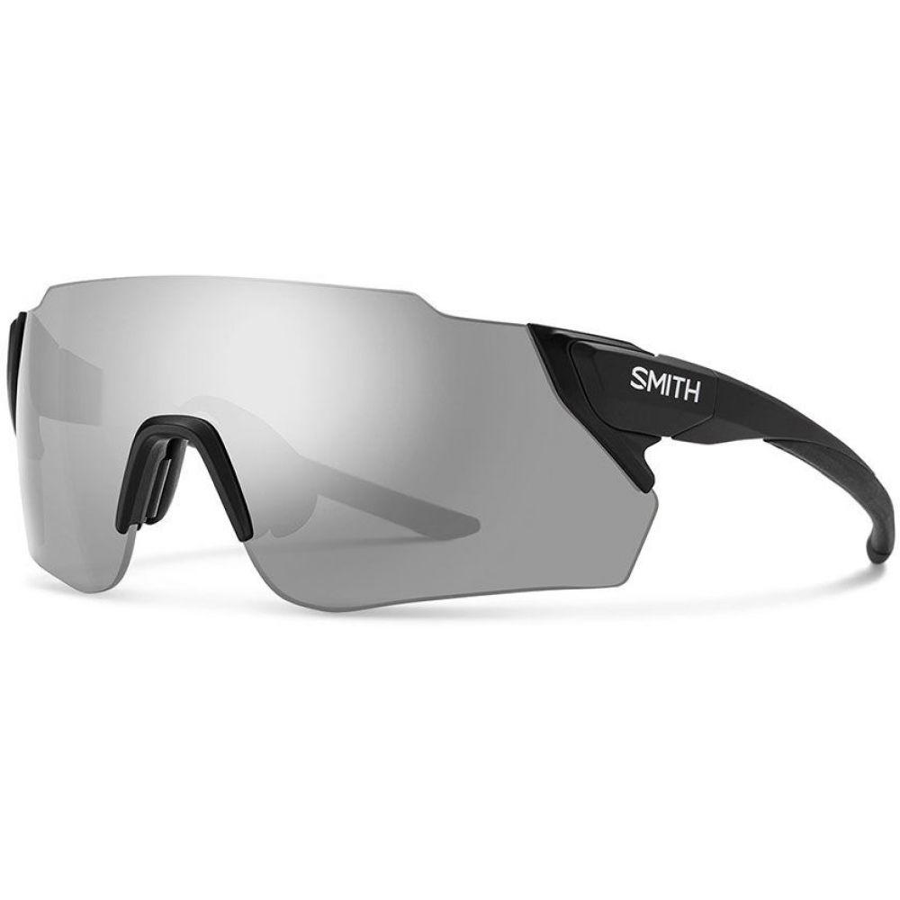 スミス メンズ ファッション小物 メガネ サングラス Matte Black 割引も実施中 Smith Sunglasses Attack Max Lens サイズ交換無料 新品■送料無料■ Platinum