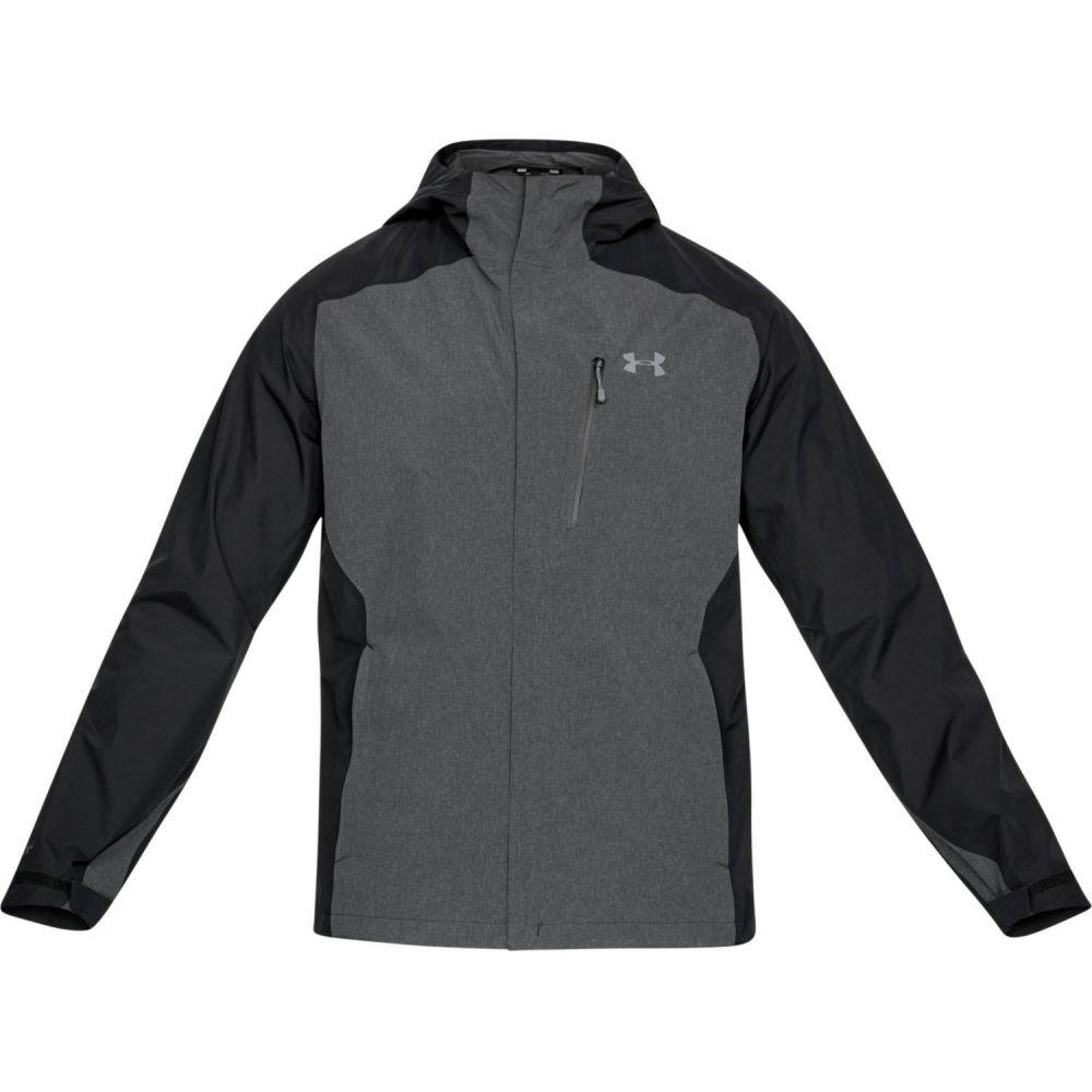 アンダーアーマー Under Armour メンズ アウター レインコート【Roam Packlite Rain Jacket】Black/Black/Graphite