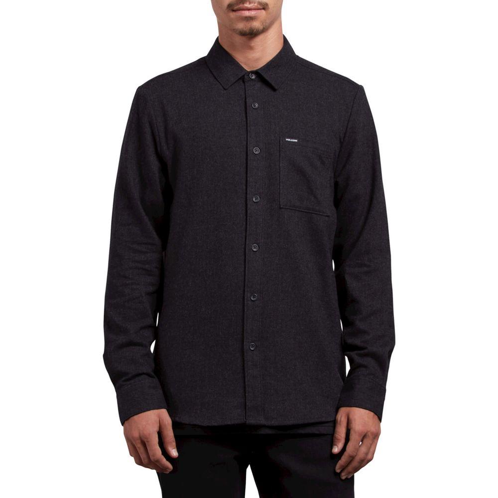 ボルコム Volcom メンズ トップス シャツ【Caden Solid L/S Flannel】Black