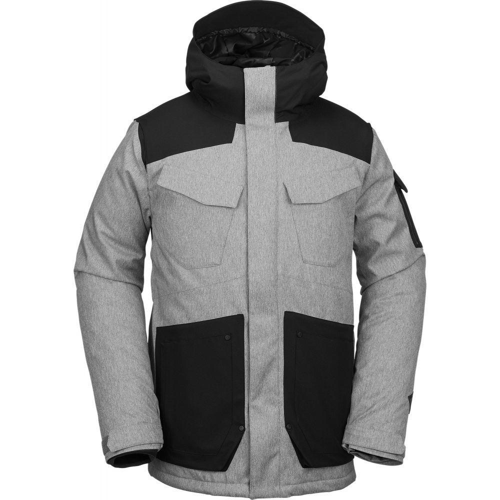 ボルコム Volcom メンズ スキー・スノーボード アウター【VCO Inferno Snowboard Jacket 2019】Heather Grey