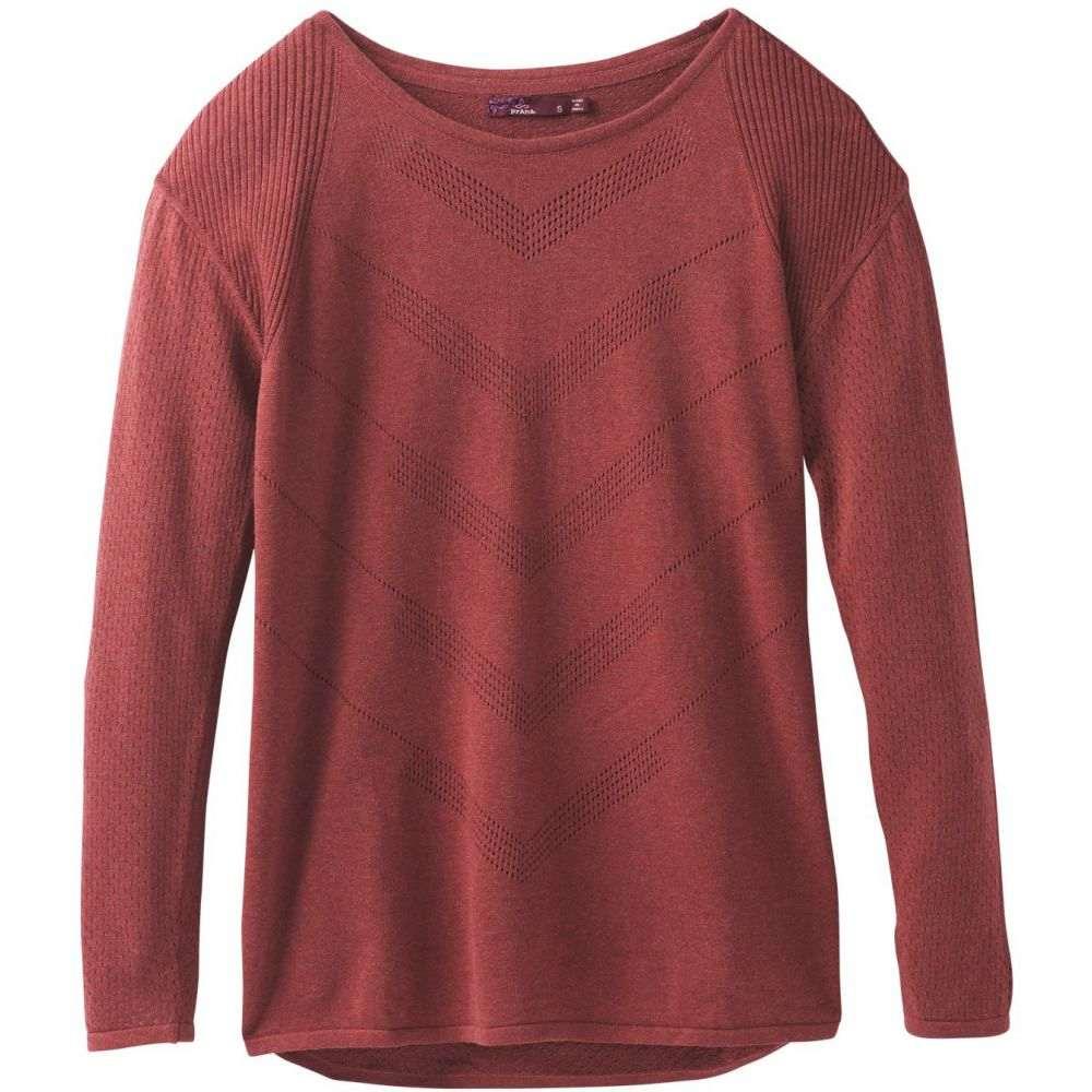 プラーナ Prana レディース トップス ニット・セーター【Mainspring Sweater】Mulled Wine Heather