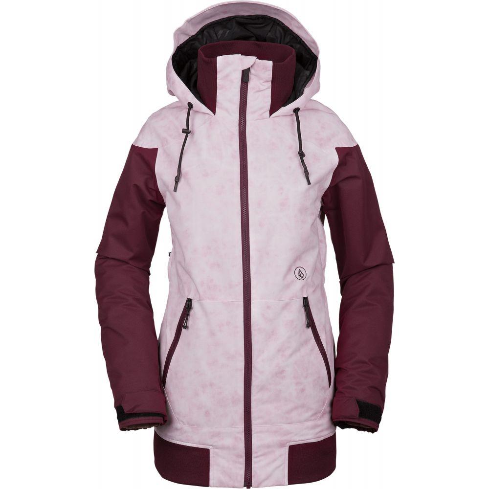 ボルコム Volcom レディース スキー・スノーボード アウター【Meadow Insulated Snowboard Jacket 2019】Pink