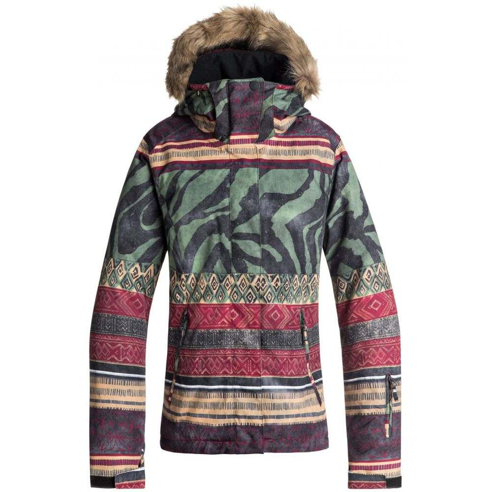 ロキシー Roxy レディース スキー・スノーボード アウター【Jet Ski SE Snowboard Jacket 2019】True Black/Wild Ethnic