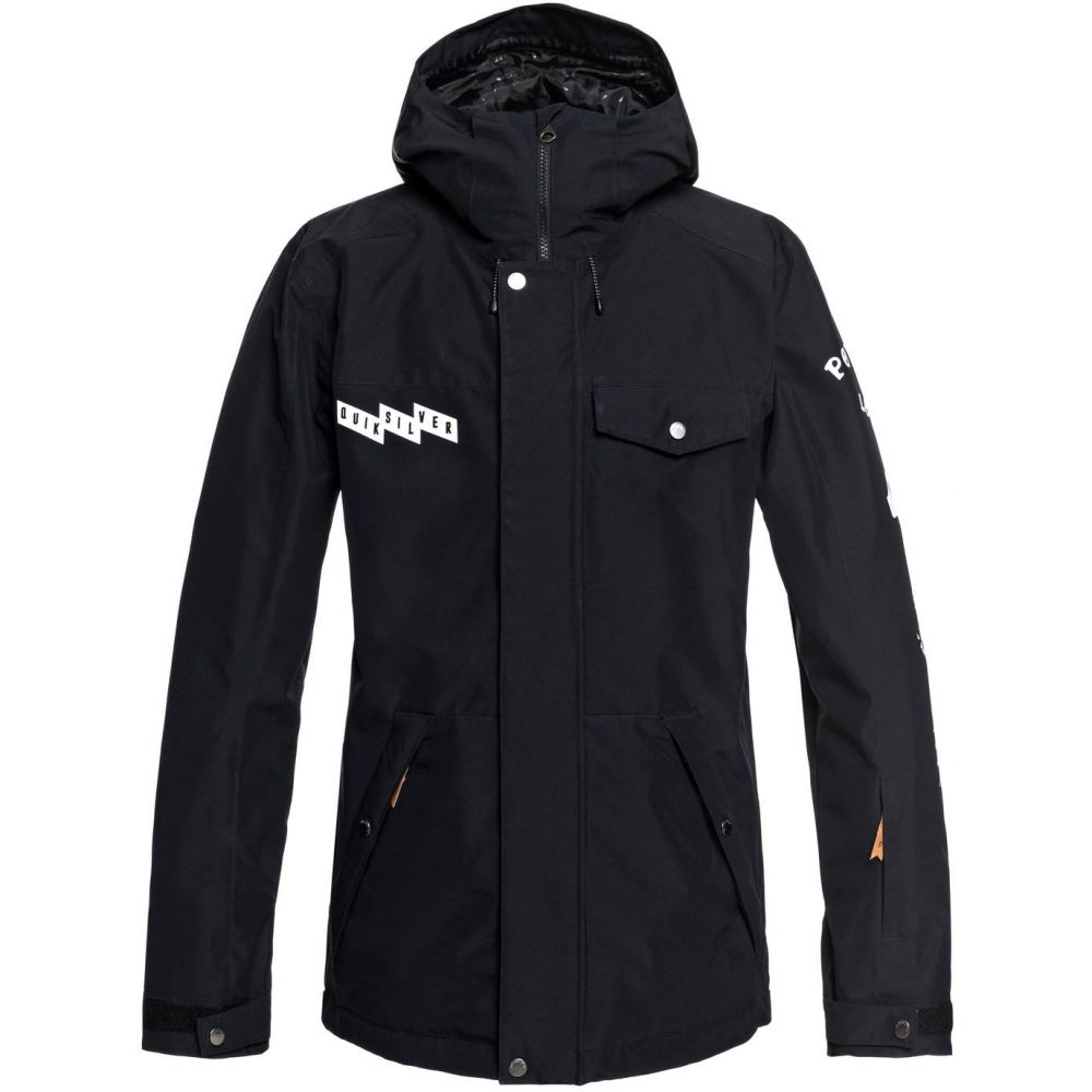 クイックシルバー Quiksilver メンズ スキー・スノーボード アウター【In The Hood Snowboard Jacket 2019】Black
