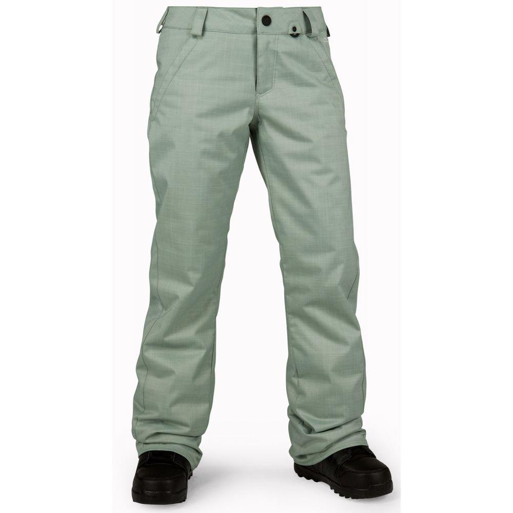 ボルコム Volcom レディース スキー・スノーボード ボトムス・パンツ【Frochickie Insulated Snowboard Pants】Sage