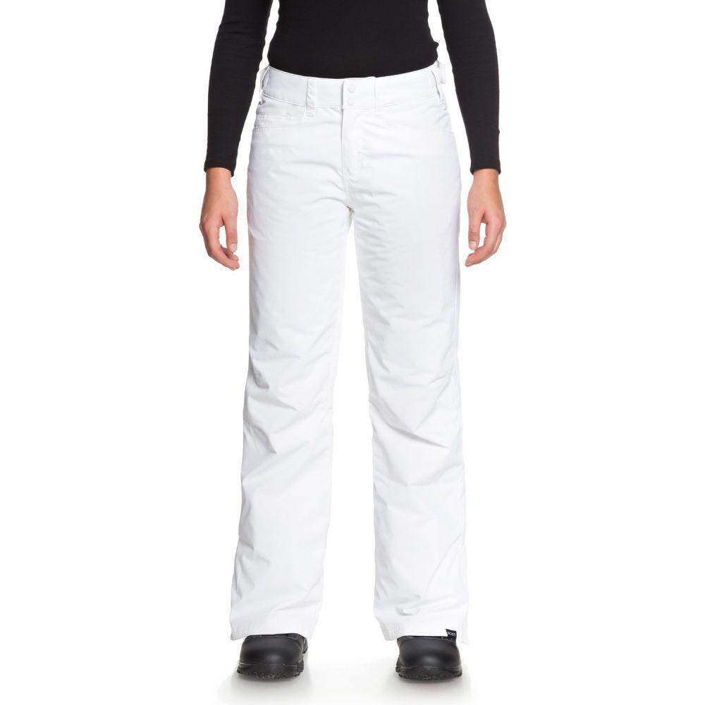 ロキシー Roxy レディース スキー・スノーボード ボトムス・パンツ【Backyard Snowboard Pants 2019】Bright White