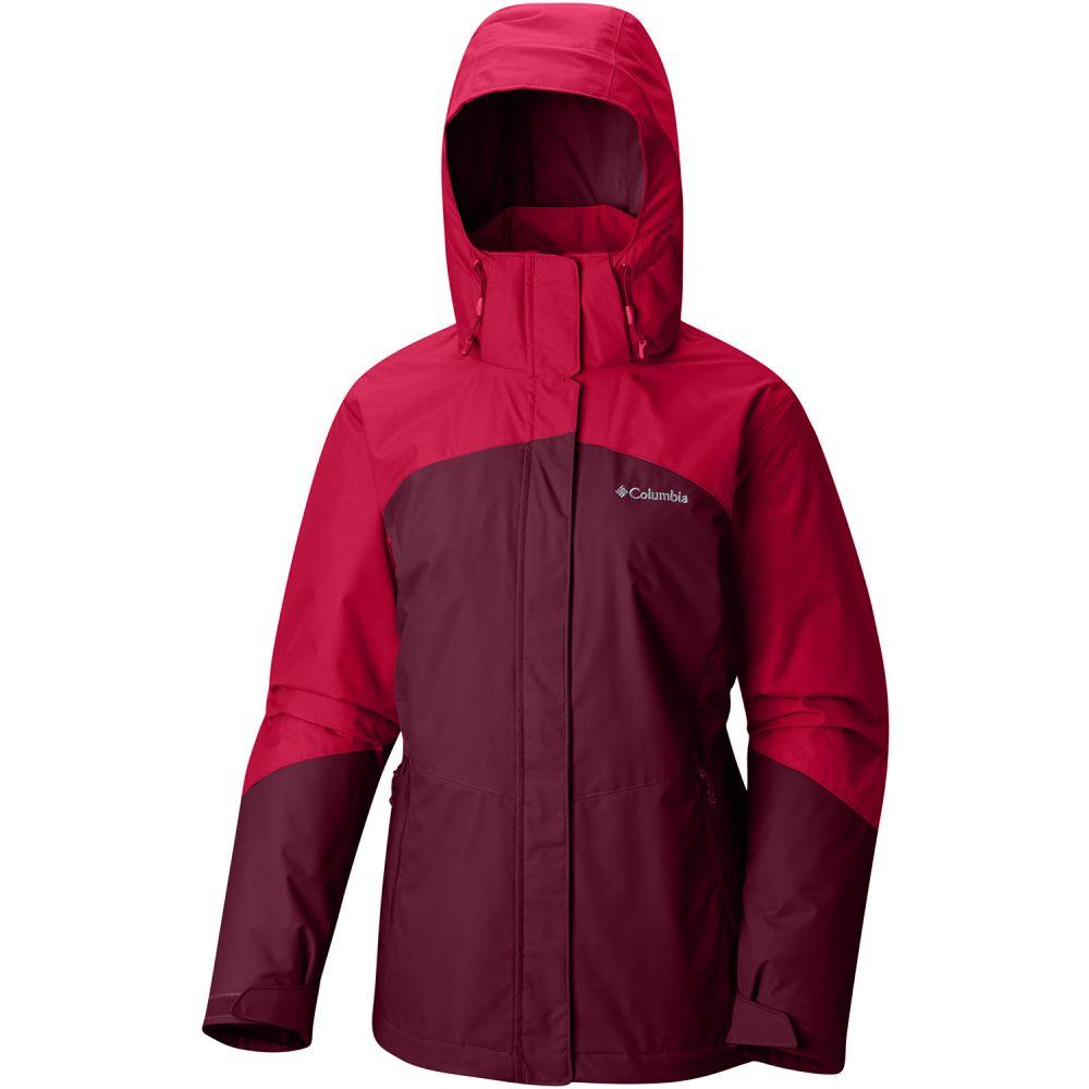 コロンビア Columbia レディース スキー・スノーボード アウター【Bugaboo II Fleece Interchange Ski Jacket 2019】Rich Wine/Red Mercury/Rich Wine