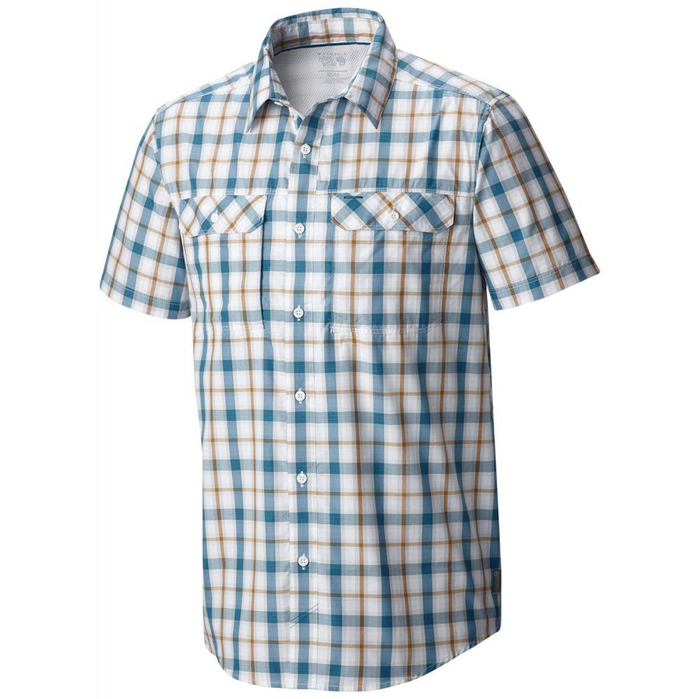 マウンテンハードウェア Mountain Hardwear メンズ トップス【Canyon Plaid Shirt】White