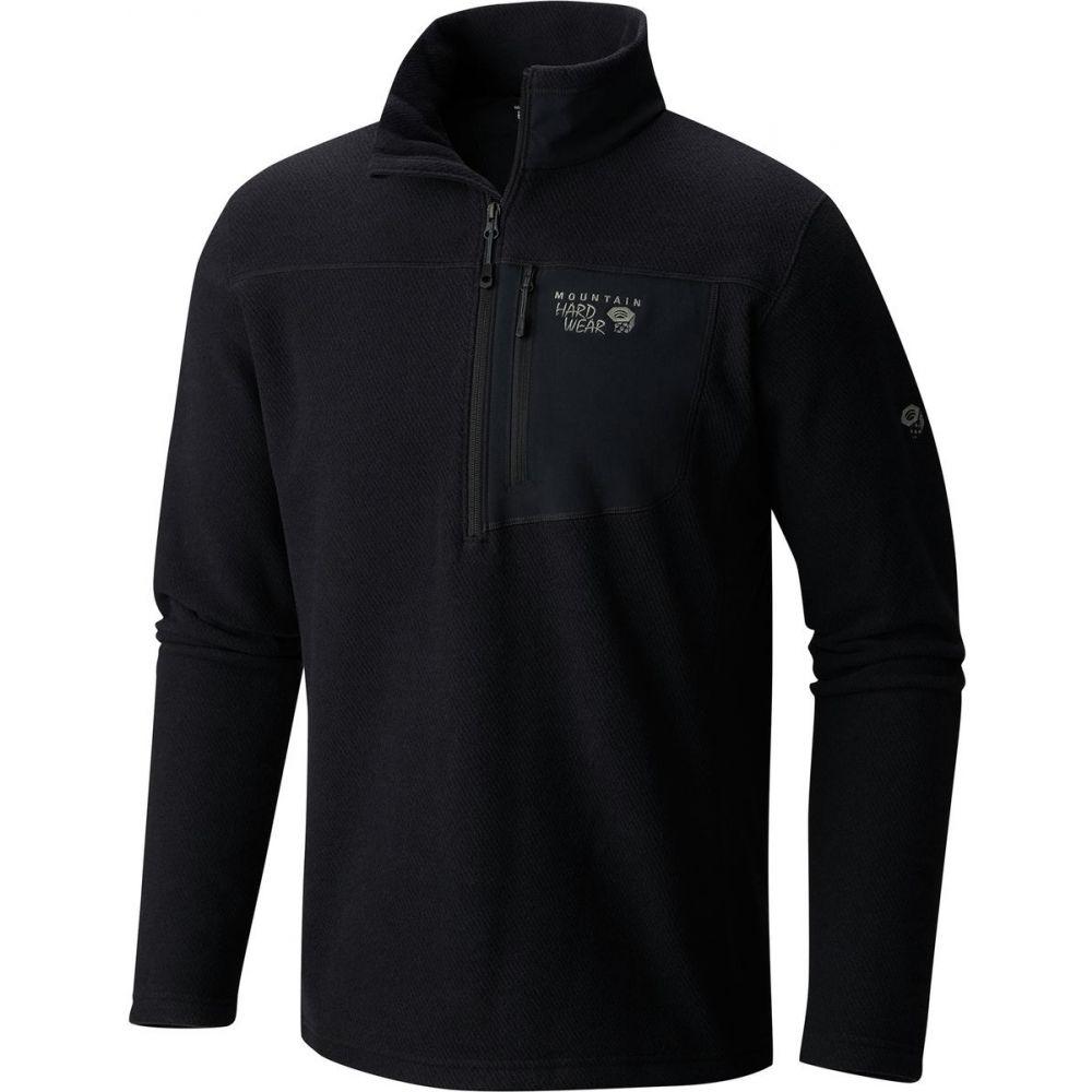 マウンテンハードウェア Mountain Hardwear メンズ トップス フリース【Toasty Twill Half-Zip Fleece 2019】Black