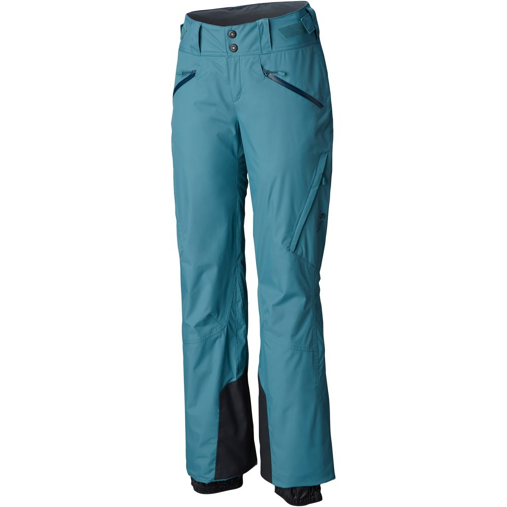 マウンテンハードウェア Mountain Hardwear レディース スキー・スノーボード ボトムス・パンツ【Link Insulated Ski Pants 2019】Lakeshore Blue