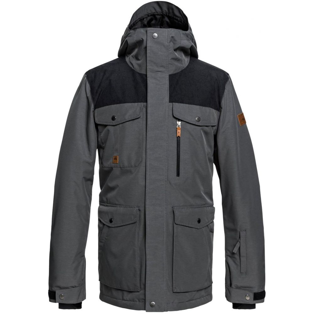 クイックシルバー Quiksilver メンズ スキー・スノーボード アウター【Raft Snowboard Jacket 2019】Grey Heather