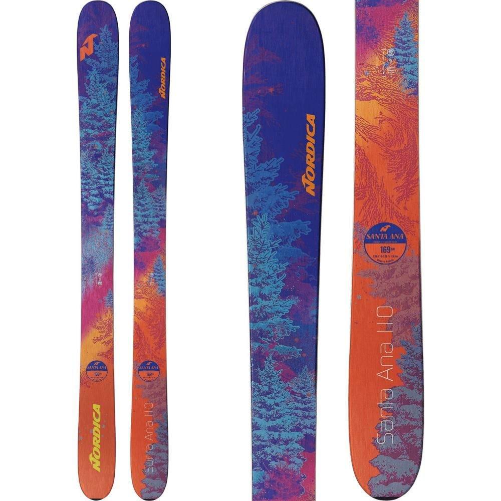 ノルディカ Nordica レディース スキー・スノーボード ボード・板【Santa Ana 110 Skis 2019】Purple/Orange
