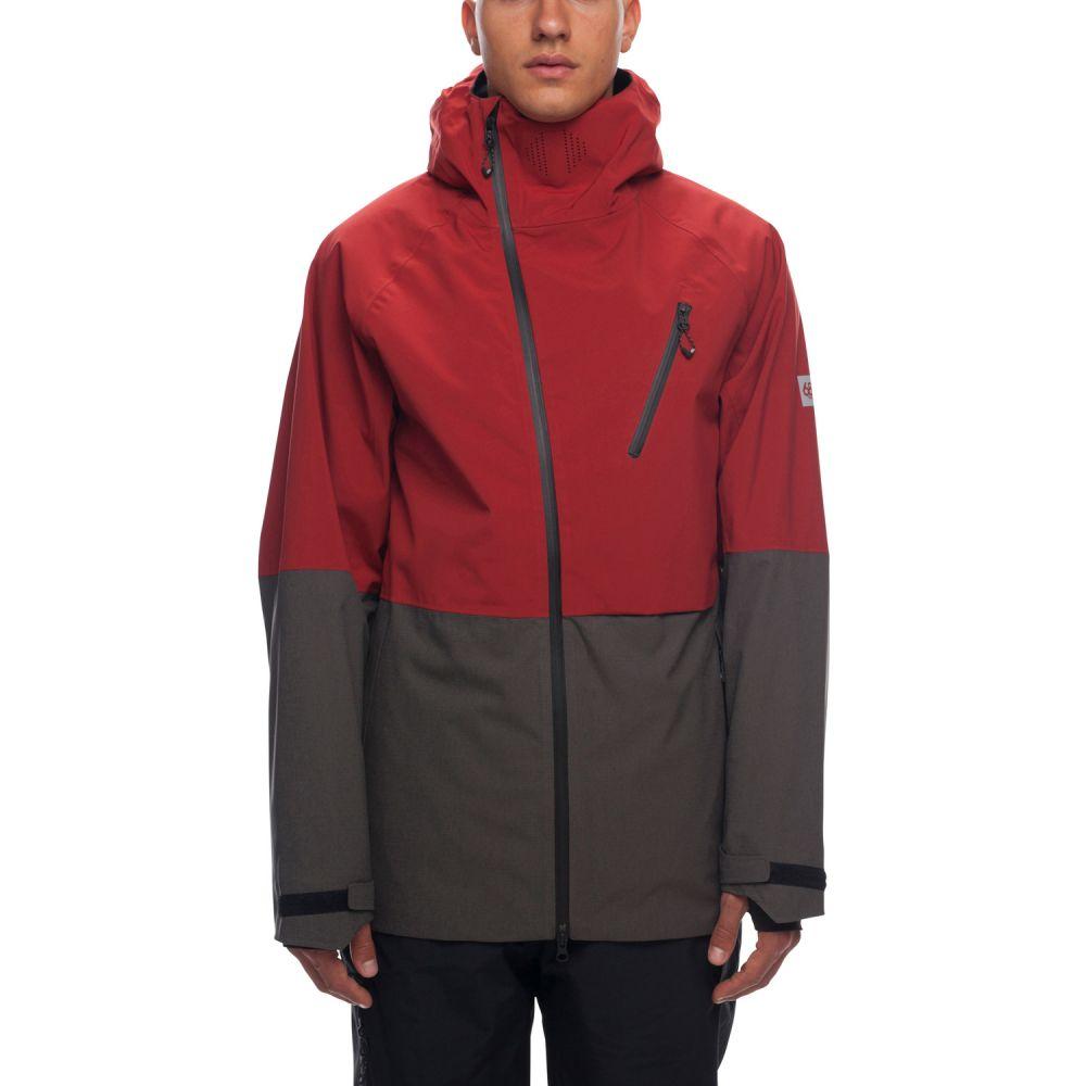 【超安い】 シックス エイト シックス 686 メンズ スキー・スノーボード アウター シックス 686【Hydra アウター【Hydra Thermagraph Snowboard Jacket 2019】Rusty Red Colorblock, クイーンアイズ:bc53bbf2 --- konecti.dominiotemporario.com